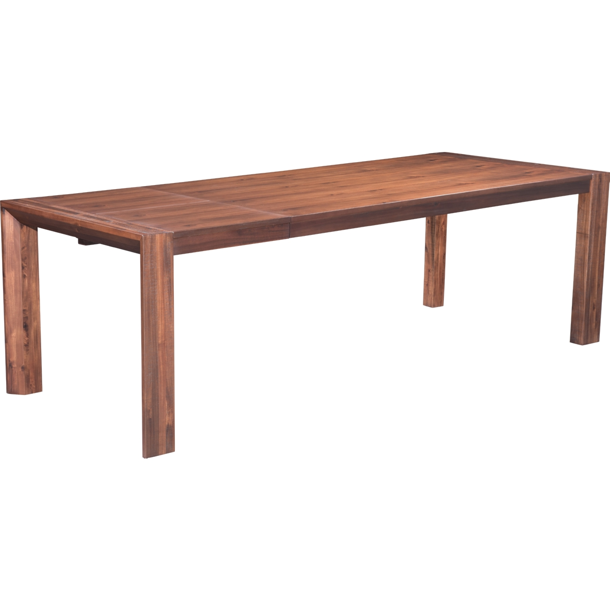Zuo modern 100592 perth buffet in chestnut finish acacia for Table queens acacia