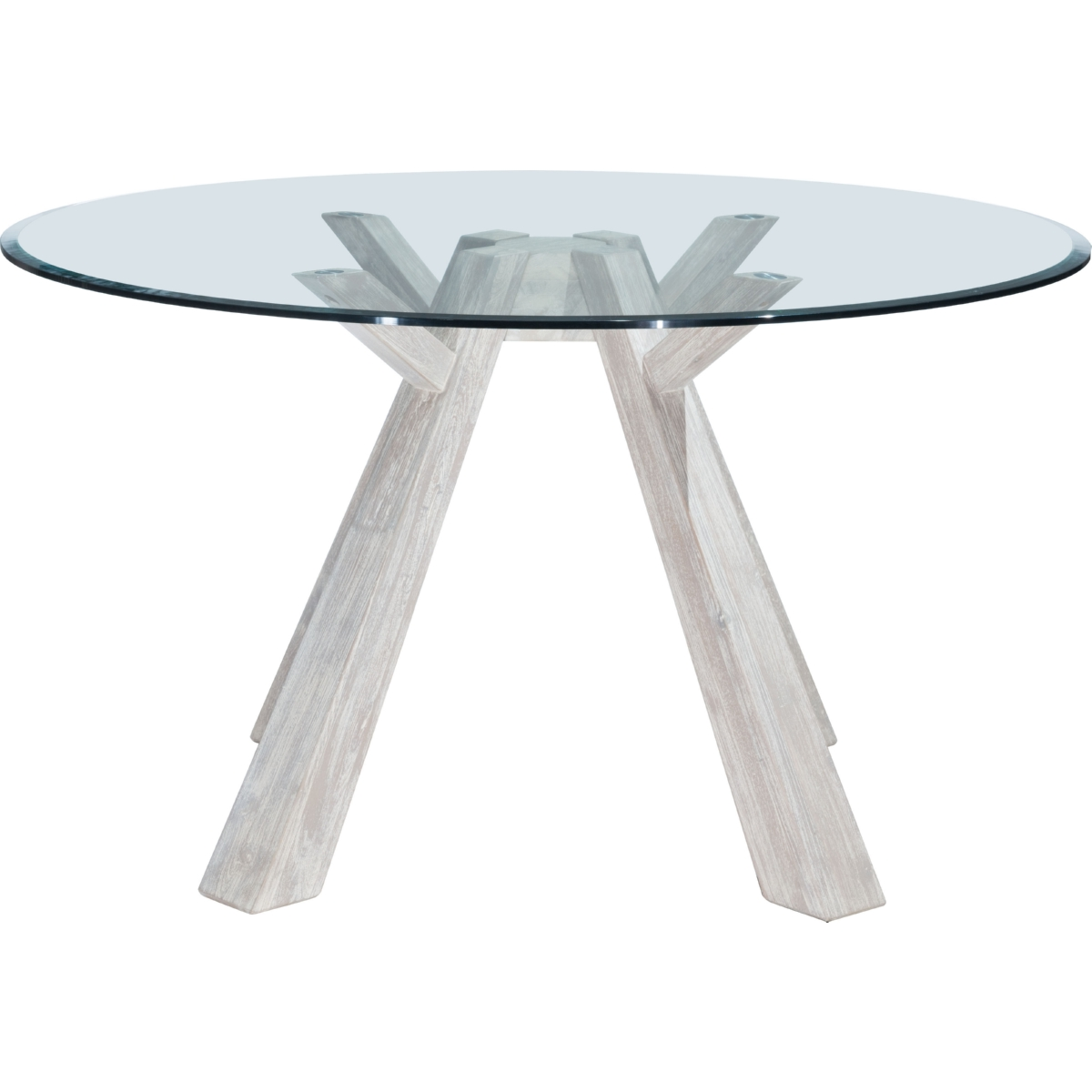 """Zuo Modern Beaumont 54"""" Round Dining Table in Sun Drenched"""